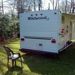 Green Chair 2005 Trailer Tall Dining Room Chairs Forest River Wildwood Rental In West Henrietta Ny