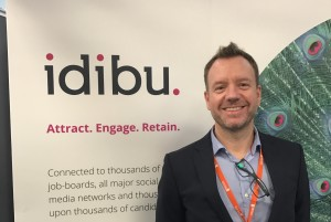 Martin Bramall at the London Recruitment Expo 2017
