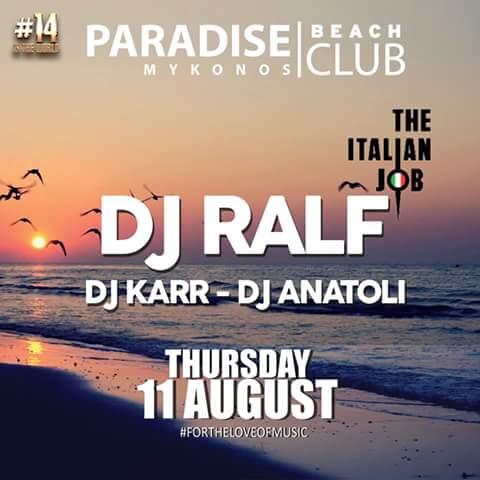 DJ RALF - DJ KARR - DJ ANATOLI