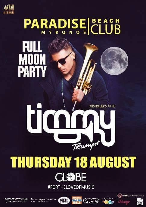 "FULL MOON PARTY ""TIMMY"""