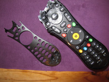 destroyed TIVO remote
