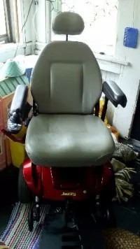 jazzy power chair used wedding covers leicester sell or buy a other select
