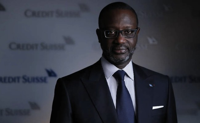 News Credit Suisse Chief Executive Thiam Resigns People