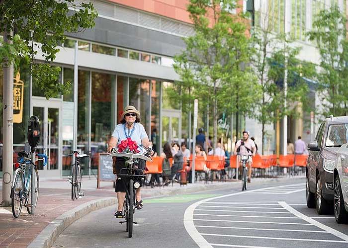 Cidades para ciclistas e pedestres