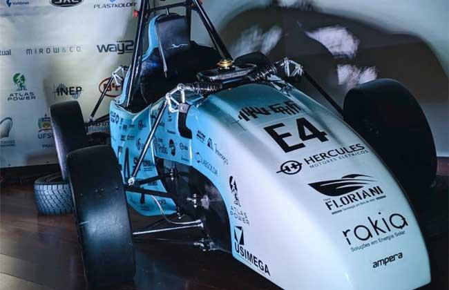 Motores elétricos da Hercules na Fórmula SAE