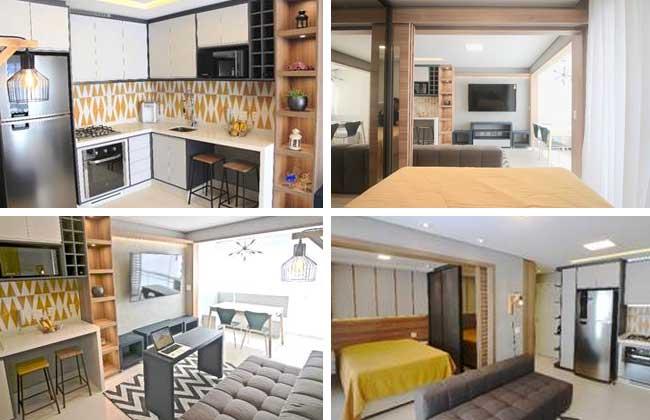 Micro apartamento por Glaucio Gonçalves