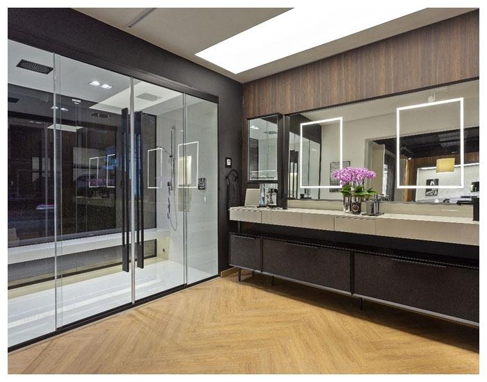 SEALEDbox cria efeito sauna no banheiro