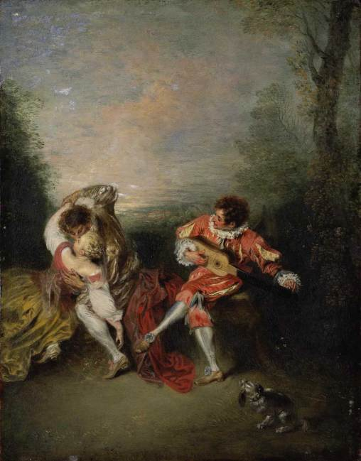 Jean-Antoine Watteau, La Surprise.
