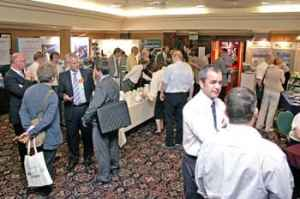 Exhibition draws a good crowd at the PROFIBUS Conference