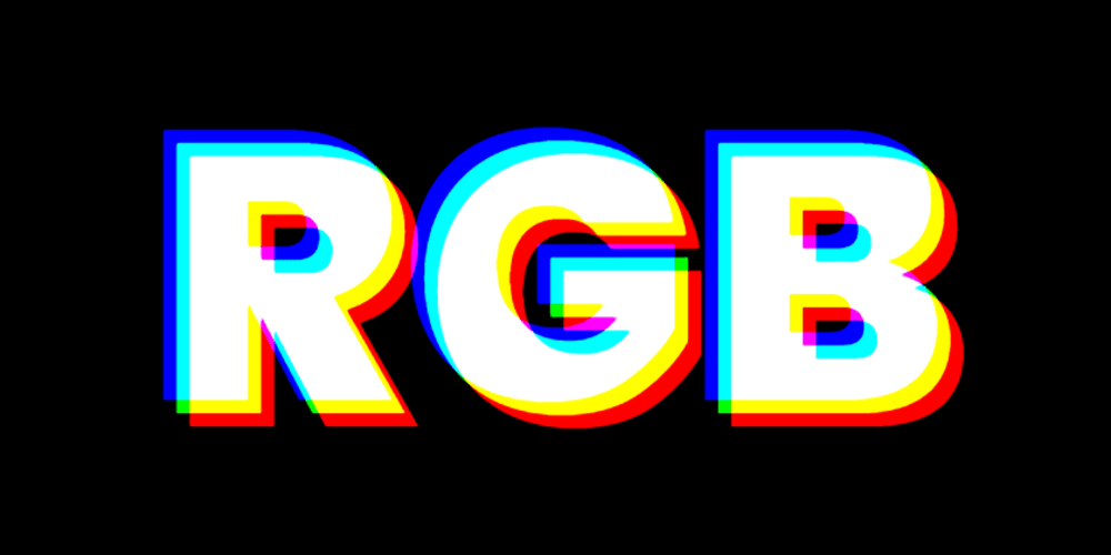 The RGB split effect with css and a bit of javascript - DEV
