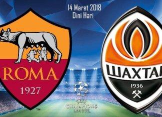 Prediksi AS Roma vs Shakhtar Donetsk Liga Champions 14 Maret 2018