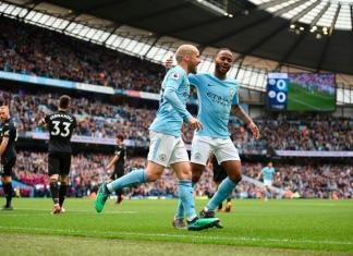 Manchester City 5-0 Swansea