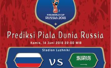 Rusia vs Arab Saudi Piala Dunia 2018