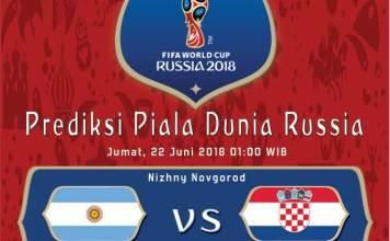 Argentina vs Kroasia Piala Dunia 2018 Grup D