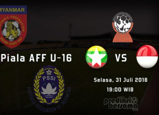 Myanmar vs Indonesia - Piala AFF U-16