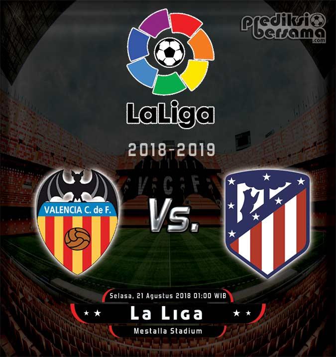 Valencia vs Atletico Madrid, La Liga 2018-2019