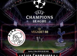 Prediksi Ajax vs Tottenham Leg 2 Semifinal Liga Champions 9-5-2019
