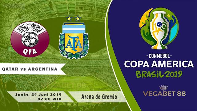 Qatar vs Argentina - 24 Juni 2019