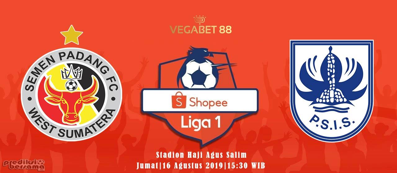 Prediksi Semen Padang vs PSIS Semarang - 16 Agustus 2019
