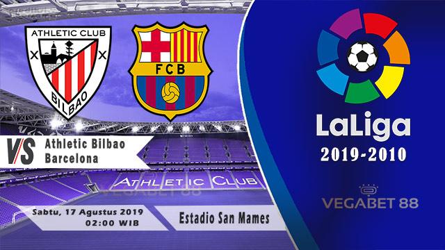 Prediksi Athletic Bilbao vs Barcelona - LaLiga 2019-20