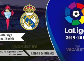 Prediksi Celta Vigo vs Real Madrid - LALIGA 2019-20