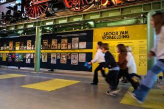Het Spoorwegmuseum drie dagen open voor museumkaarthouders