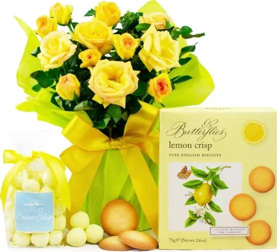 lemon rose gift