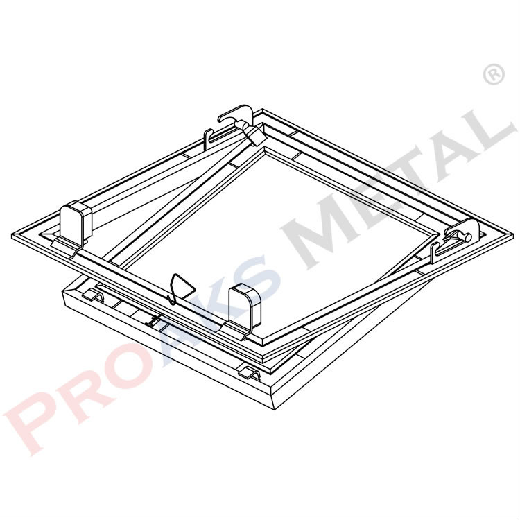 Prostar Plasterboard Liner Panel, Screwless, Switch, Touch