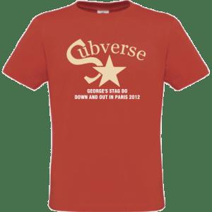 Subverse Stag's T-Shirt design