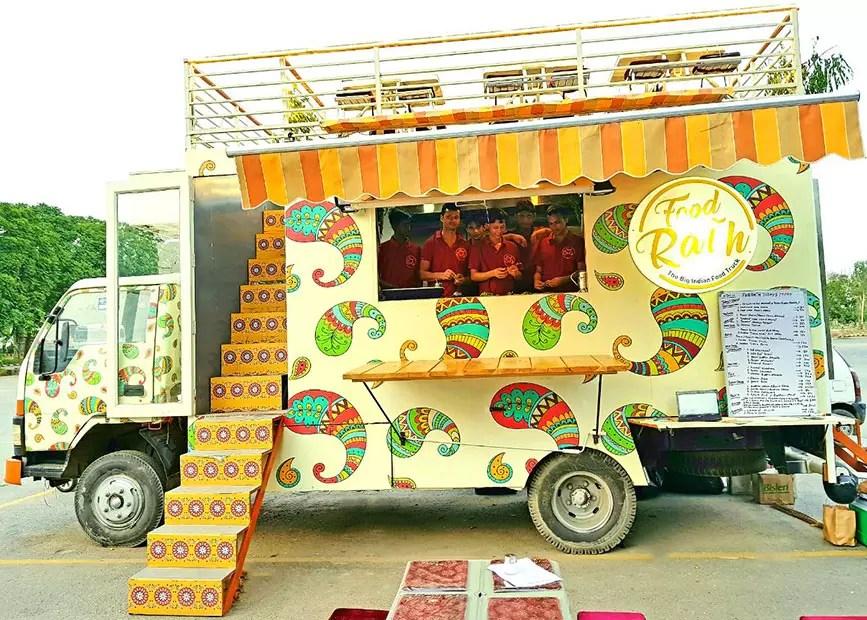 Image result for food trucks in delhi
