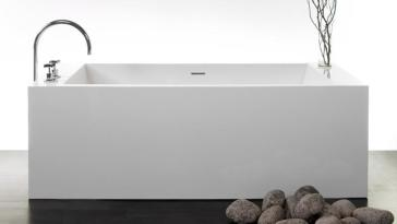 Wetstyle BC03 Cube Collection Free Standing Soaker Tub