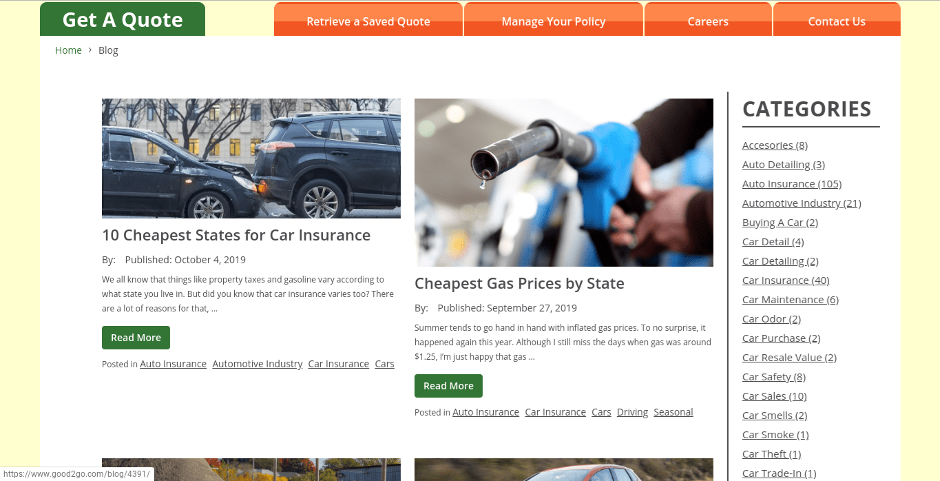 Good2Go Car Insurance Review [The Complete Guide]