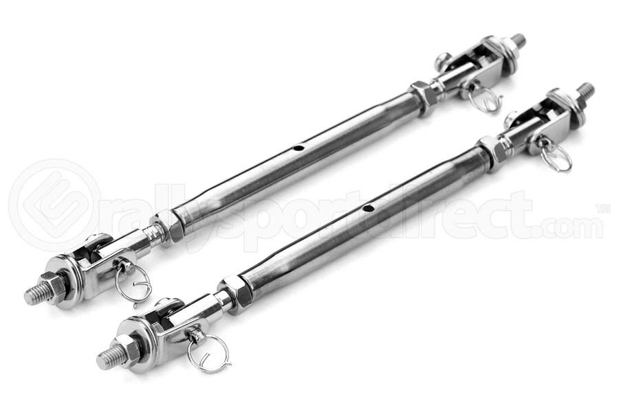 APR Universal 10mm Wind Splitter Support Rods w/ Quick
