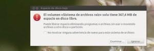 Liberar espacio Linux