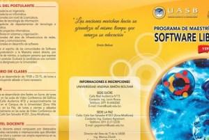 Maestría Software Libre Universidad Andina