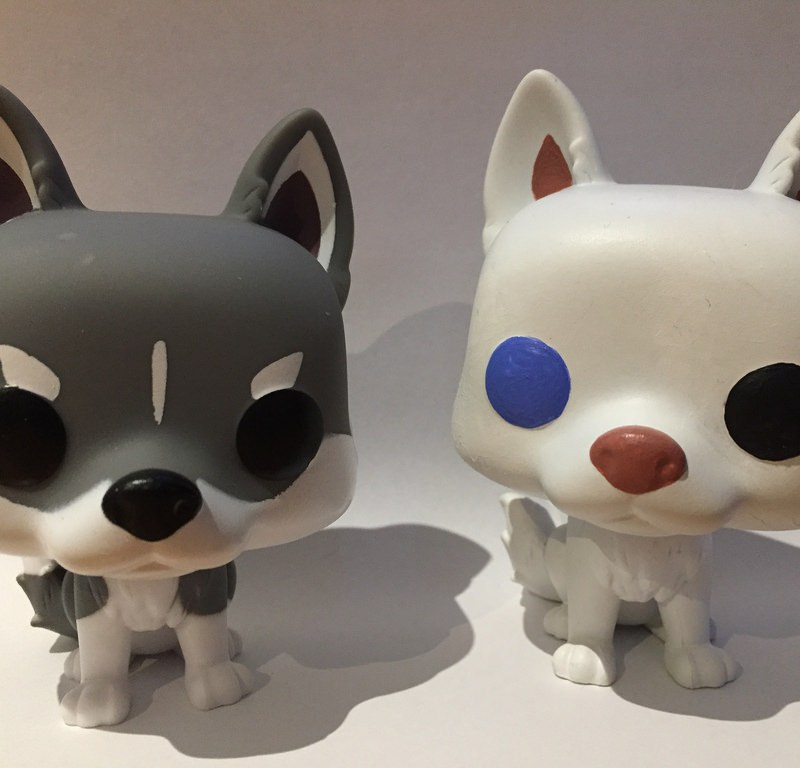 Funko Pop Husky Custom / Red Wolf