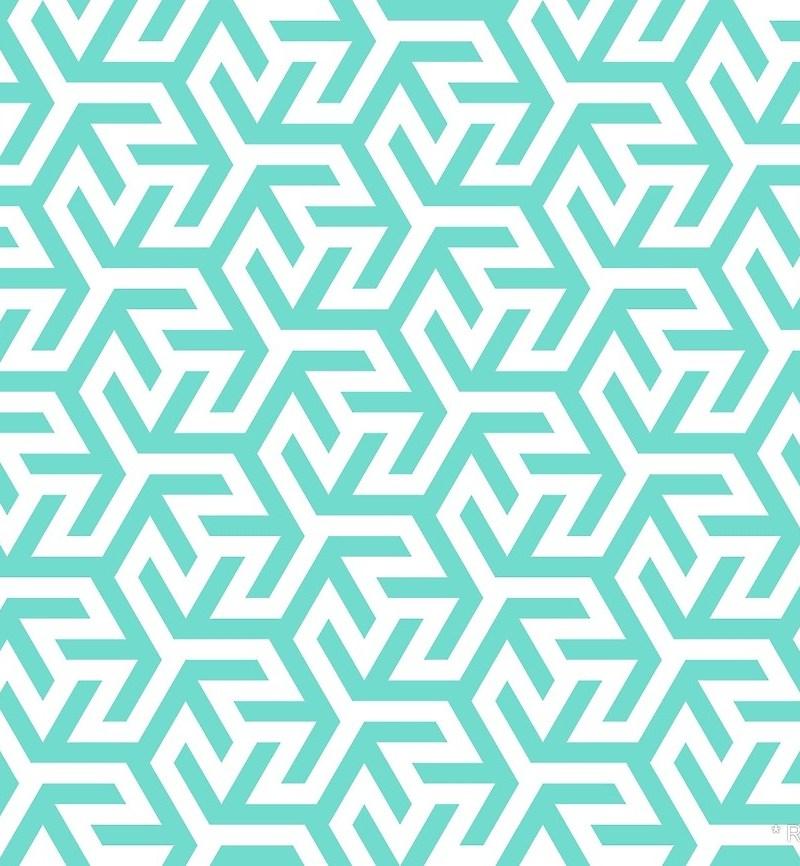 Geometric Pattern: Triskelion Fork / Red Wolf