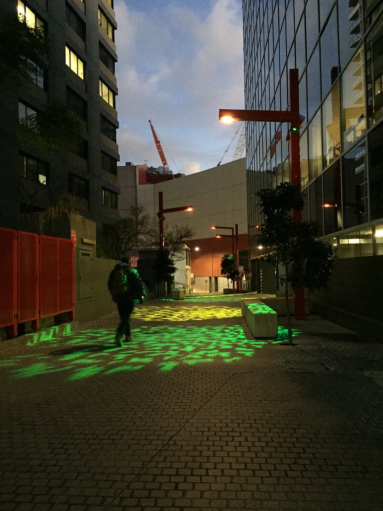 Lane lights + Crane / Red Wolf