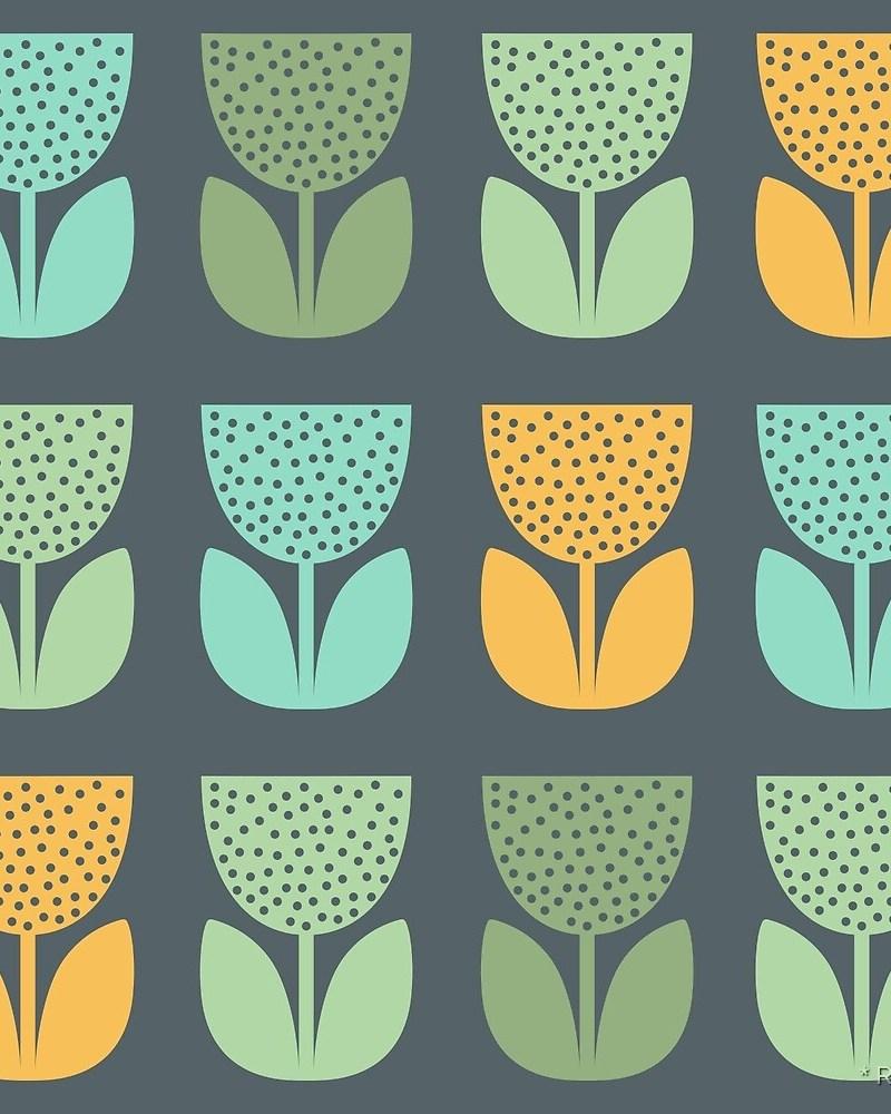 Geometric Pattern: Poppy: Seasons