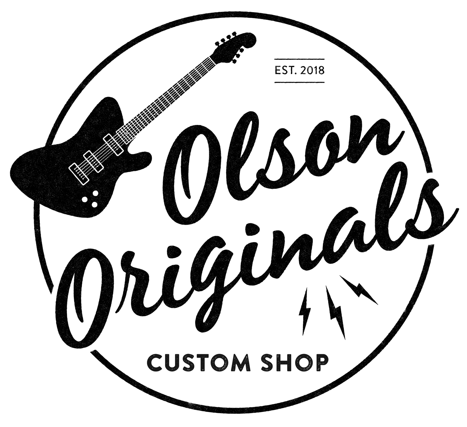 Olson Originals Custom Deluxe Sonic Blue