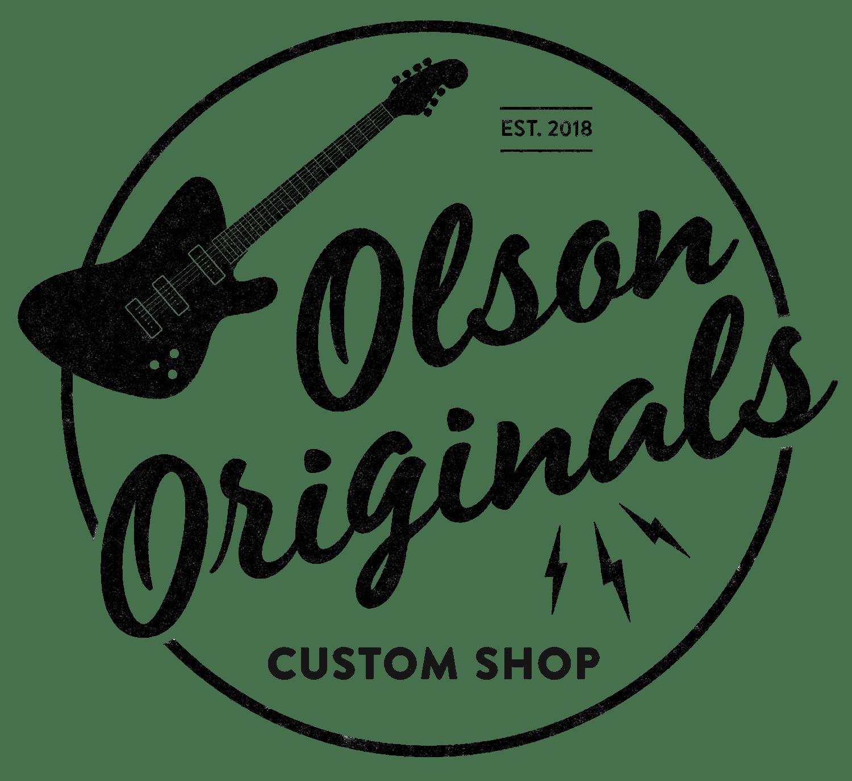 Olson Originals Custom Deluxe 2018 Sonic Blue