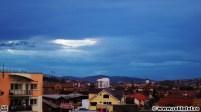 Gaura în cer s-a căscat peste Cluj