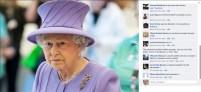 Regina Elisabeta a II-a a Marii Britanii este in spital, publicul roman reactioneaza sub orice crtica