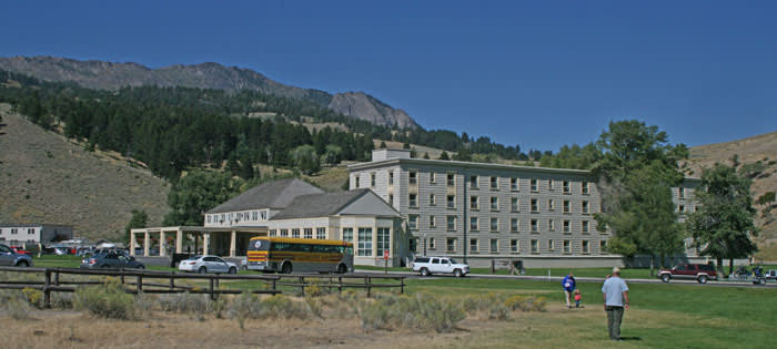 Mammoth Hot Springs Hotel  Cabins  Yellowstone National Park
