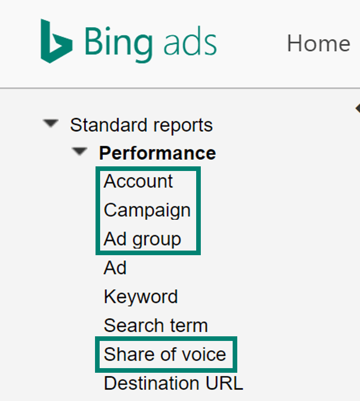 Add Bing Ads EM IS to account