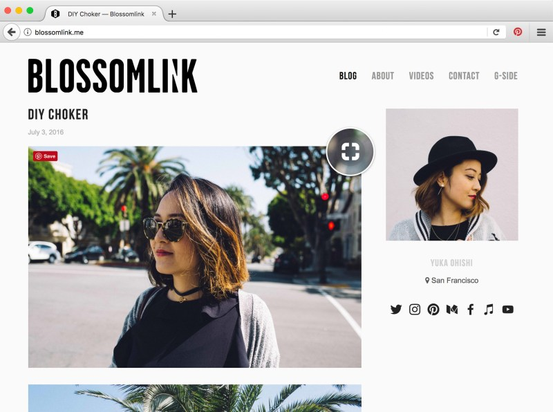 Pinterest visual search comes extension on Firefox