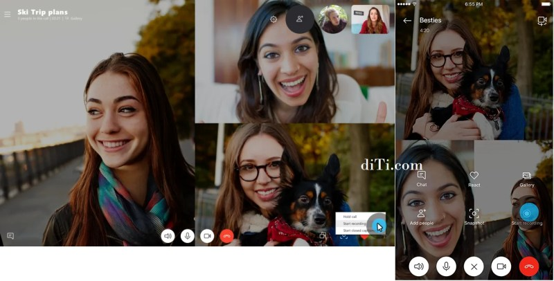Skype Call Recording on Desktop and Mobile