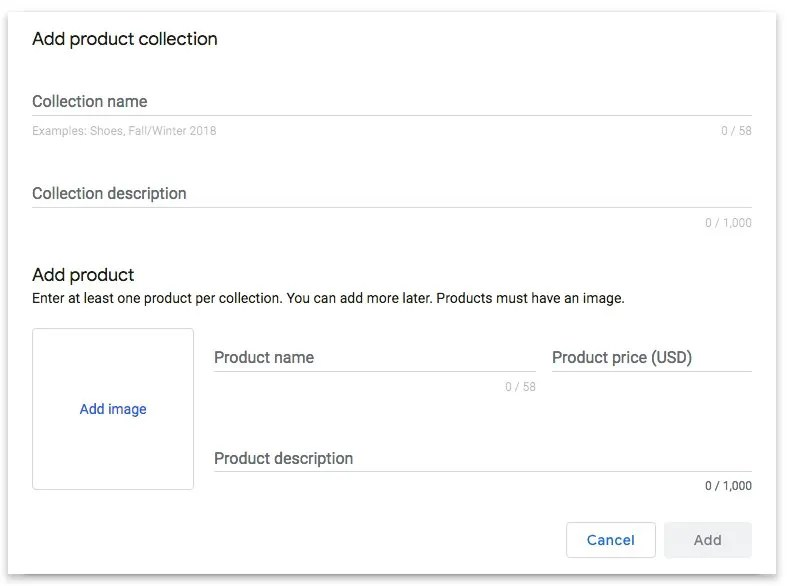 Google My Business Adds Products Listings