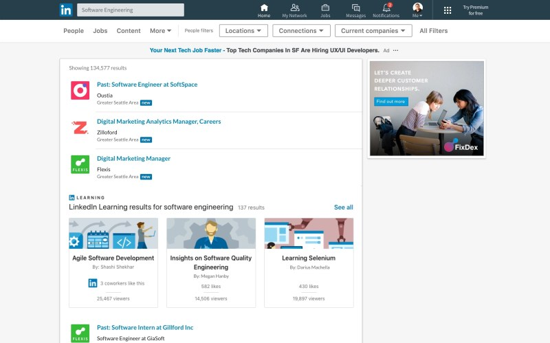 Personalized Recommended LinkedIn Learning Courses for Job seekers