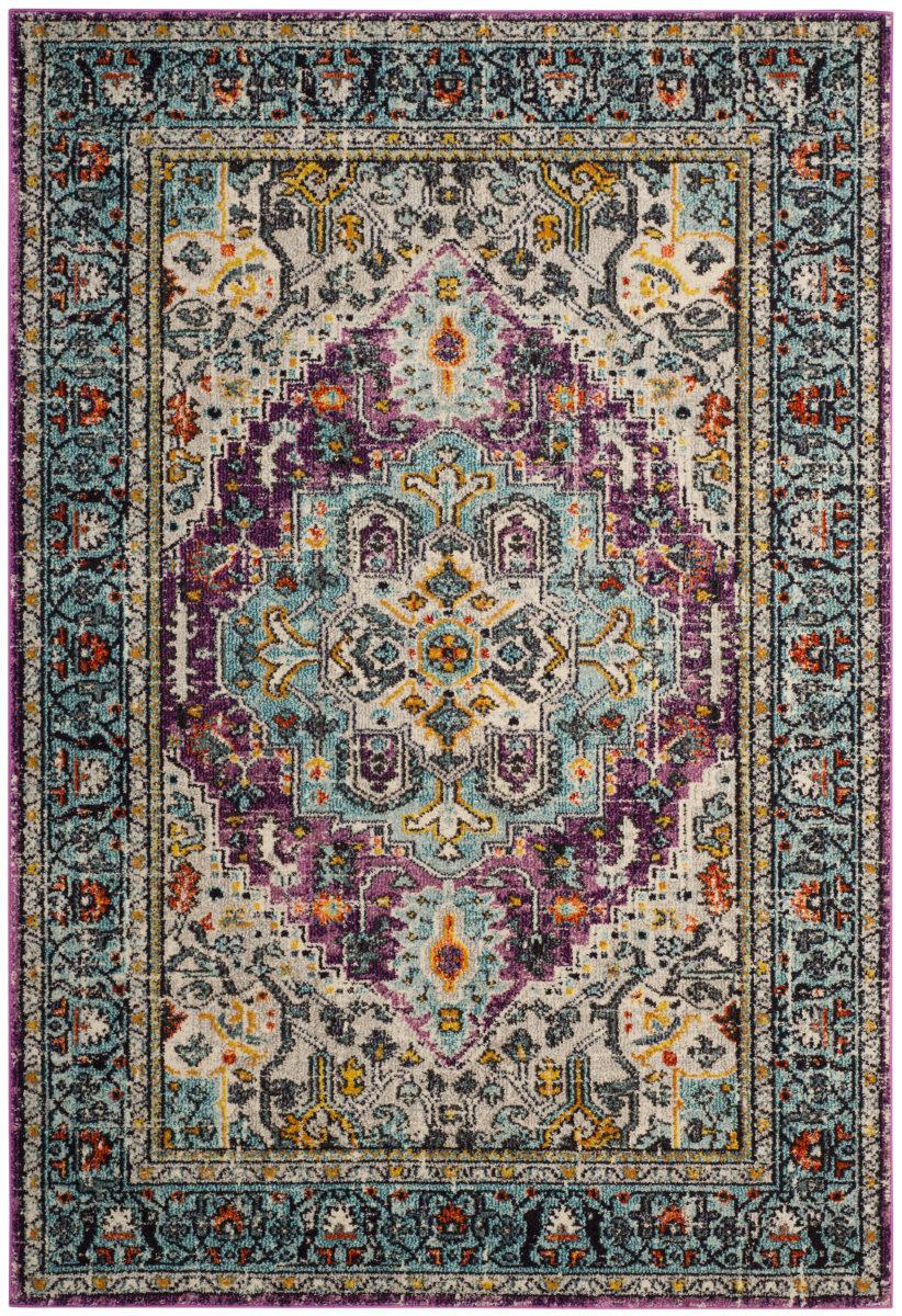 safavieh monaco mnc251l violet light blue area rug